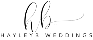 Hayley B Wedding Photographer Logo
